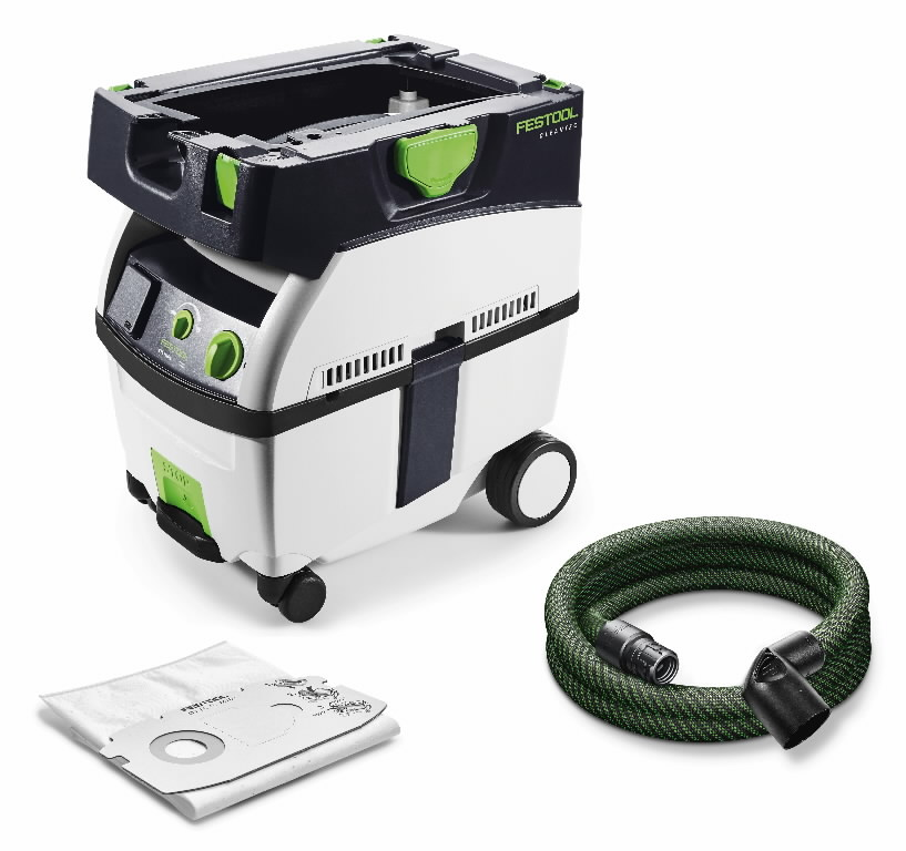 mobile dust extractor ctl midi festool festool proffessional vacuum cleaners. Black Bedroom Furniture Sets. Home Design Ideas