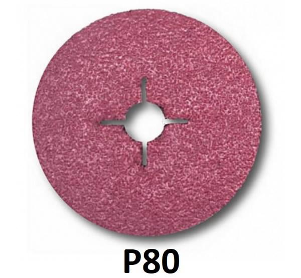 Šķiedras disks metālam 982C Cubitron II 125mm P80+, 3M