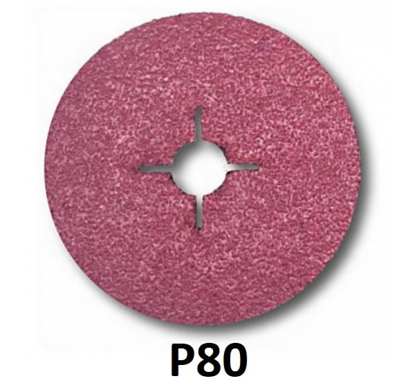 Fiber disc for steel 982C Cubitron II 125mm P80+, 3M