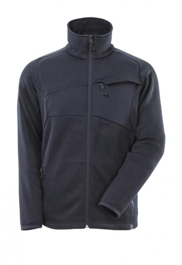 Džemperis su  užtrauktuku  ACCELERATE, tamsiai  mėlyna 4XL, Mascot