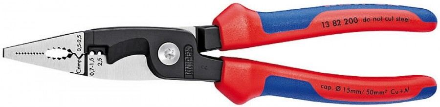 elektriku näpitslõikurid 200mm comfort käepide, Knipex