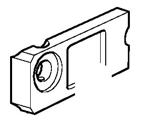 Kronšteinas vikšro tempimo mechanizmo, dešinės pusės, JCB
