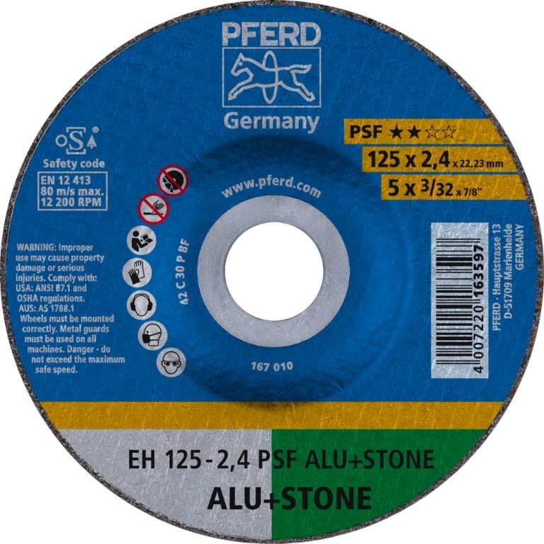 kivilõikeketas 125x2,4mm PSF ALU+STONE, Pferd
