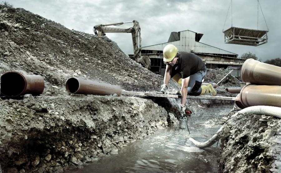 Погружной дренажный насос для строительных объектов SP 28-50 S Inox, METABO