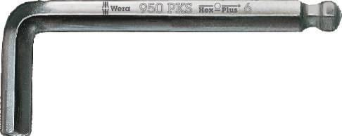 L-key HEX 950 PKS 1,5x50, Wera