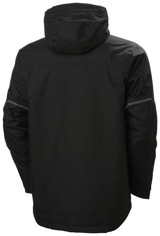 Žieminė striukė Kensington, su gobtuvu, juoda L, Helly Hansen WorkWear