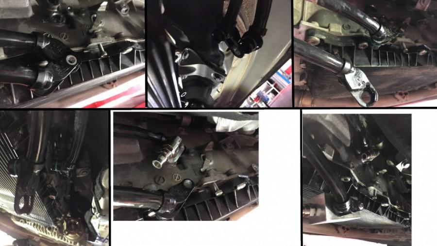 Adapterite komplekt BMW zf 8käiku, ATF, Spin