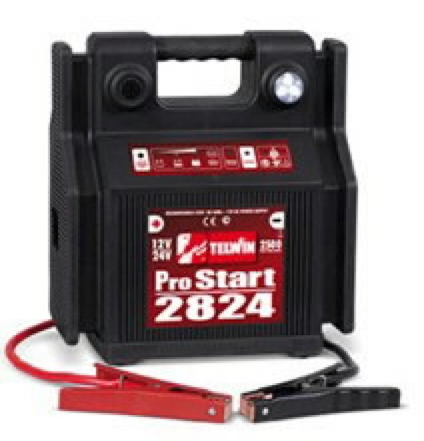 12/24V kaasaskantav käivitusabi Pro Start 2824, Telwin