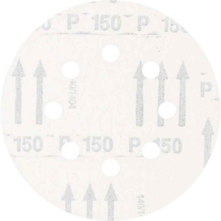 Velcrolihvketas 125mm P150 8 ava, Pferd