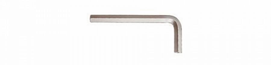 L-kuuskant 8mm 351, lühike, kroomitud