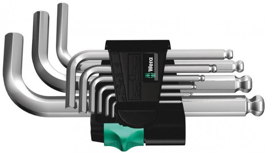 L-key set HEX 950 PKS/9 SM N, Wera