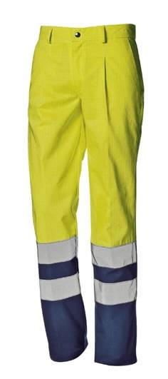 Keevitaja püksid multi Supertech kõrgnähtav CL3, kollane/sin 46, Sir Safety System