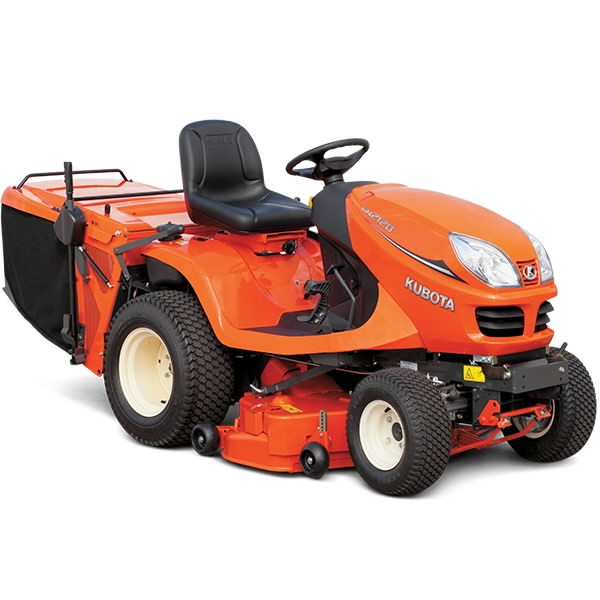 Ride On Mower Gr2120 Ii Kubota Lawn Tractors With Rear Bagger