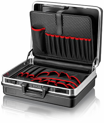 """""""Tool Case """"""""Basic"""""""" empty with aluminium frame"""", Knipex"""