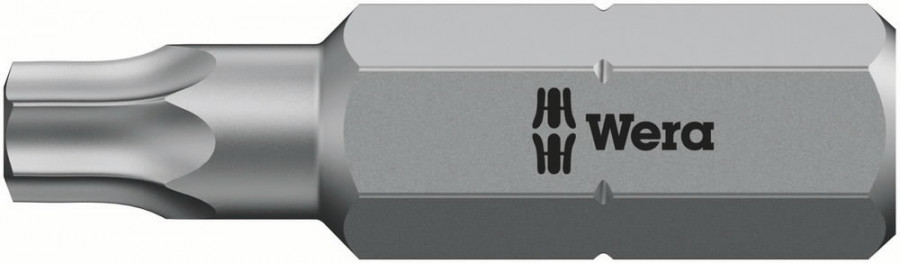 Otsak 1/4´´ 867/1 TORX TX 6x25, Wera