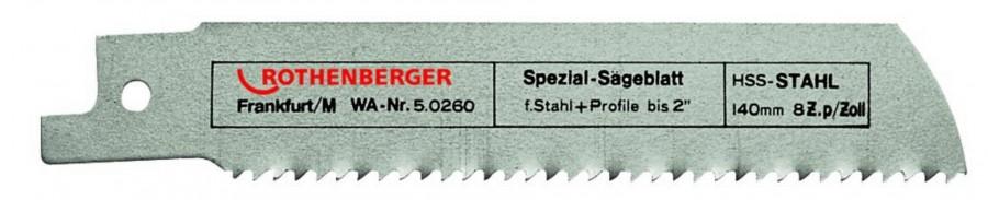 Otssaetera 1,6/140mm HSS metall, Rothenberger