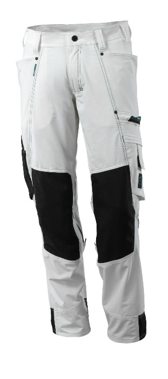 Tööpüksid 17179 Advanced, valge 82C46