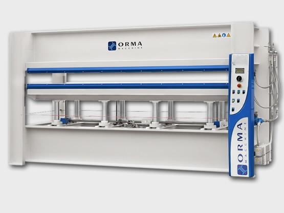 Kuumpress NPC/Digit 6/95 3000x1300 (elektriline veeboiler), ORMA