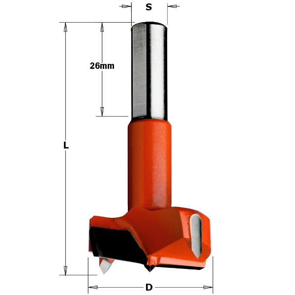 Hingepuur 35x70 S=10x26 HM RH, CMT