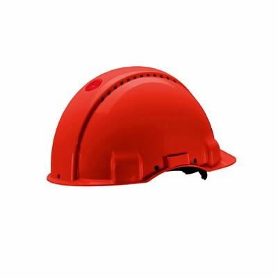 Kaitsekiiver Uvicator, nupust reguleeritav, punane G3000NUV-