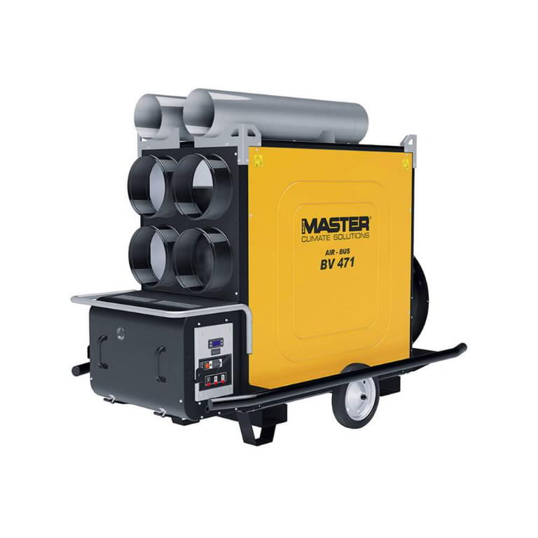 Indirect oil heater BV 471 S, 136 kW no burner, Master