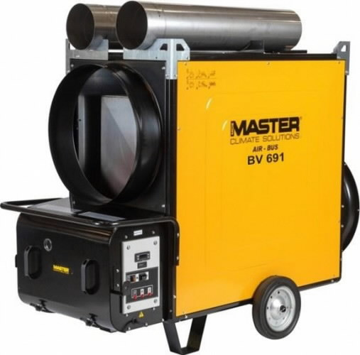 Indirect oil heater BV 691 S, 225 kW, Master