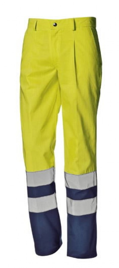 647f7688f0f Kõrgnähtavad multi püksid Supertech kollane/sinine 52, Sir Safety ...