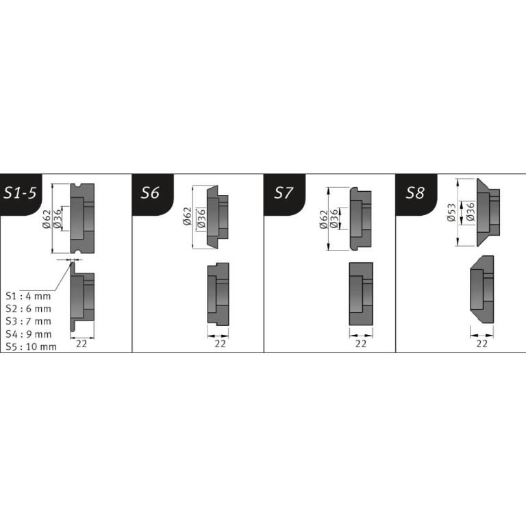 Sikemasin mootoriga SBM 140-12 E, Metallkraft