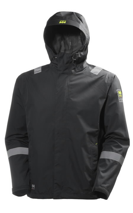 AKER SHELL JACKET grey/black L, Helly Hansen WorkWear
