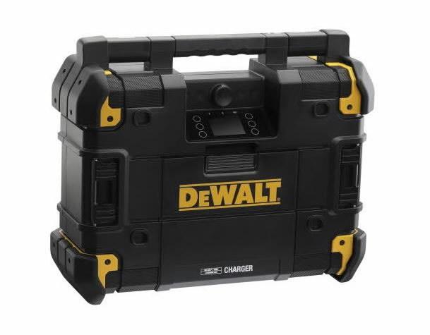 Raadio-laadija DWST1-81078, 10,8 - 54 V XR, BT, karkass, DeWalt