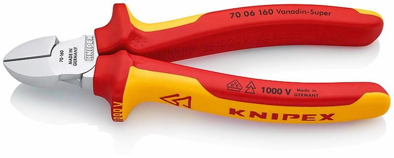 Sivuleikkurit 160 mm VDE, Knipex