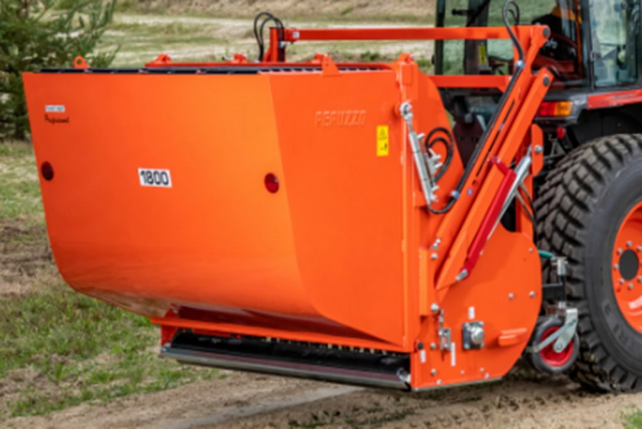 Chopper with collector PANTHER 2000, L1, L2, Kubota