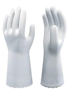 Cimdi, mājsaimniecības, Showa SHB0700, 30 cm, balti 8