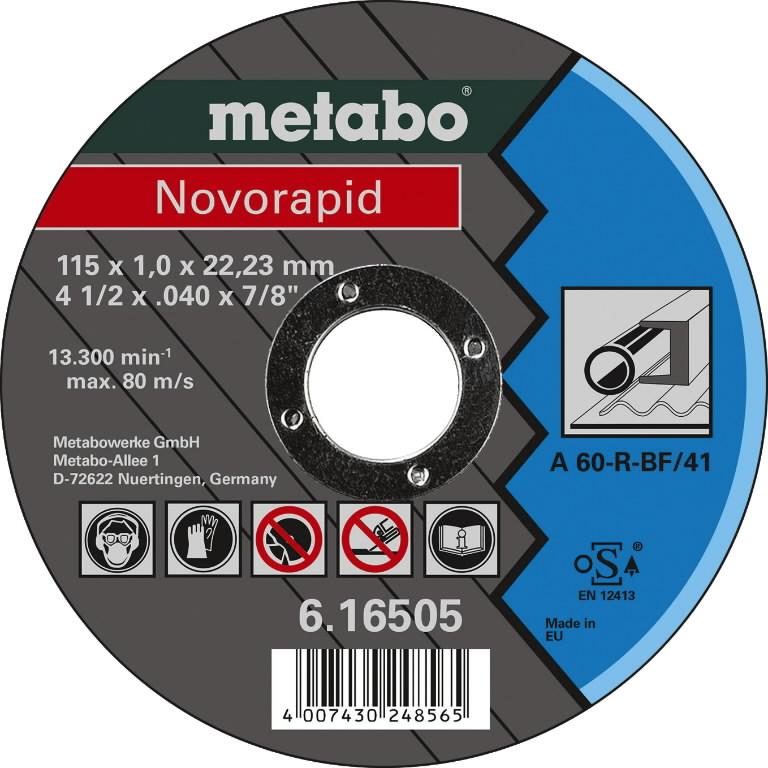 Metallilõikeketas 150x1,6x22,23 mm, TF41, Novorapid, Metabo