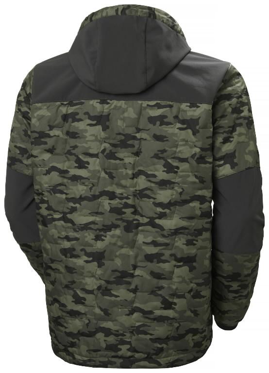 Jacket hooded Kensington Lifaloft, Camo 4XL, Helly Hansen WorkWear
