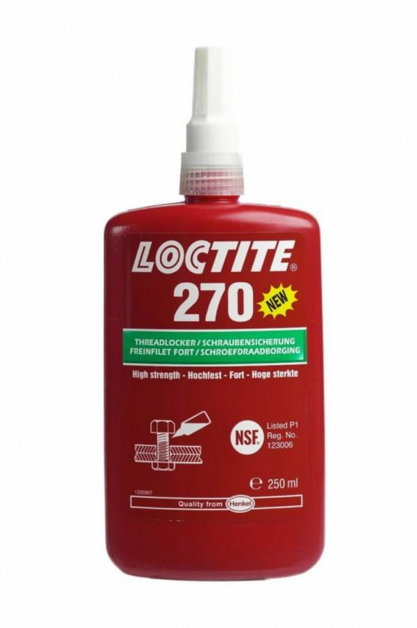 Keermeliim (suure tugevusega, 33Nm)  270 250ml, Loctite