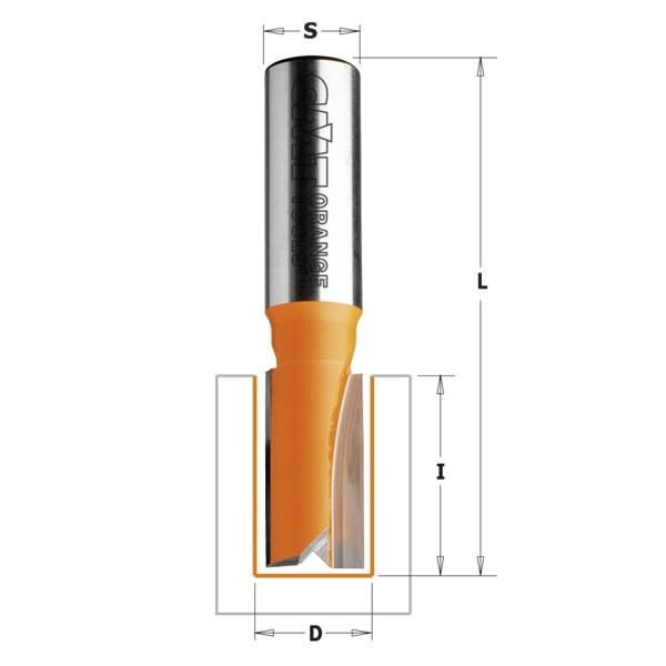 пальчиковая фреза hm S=8 D=6x16, CMT