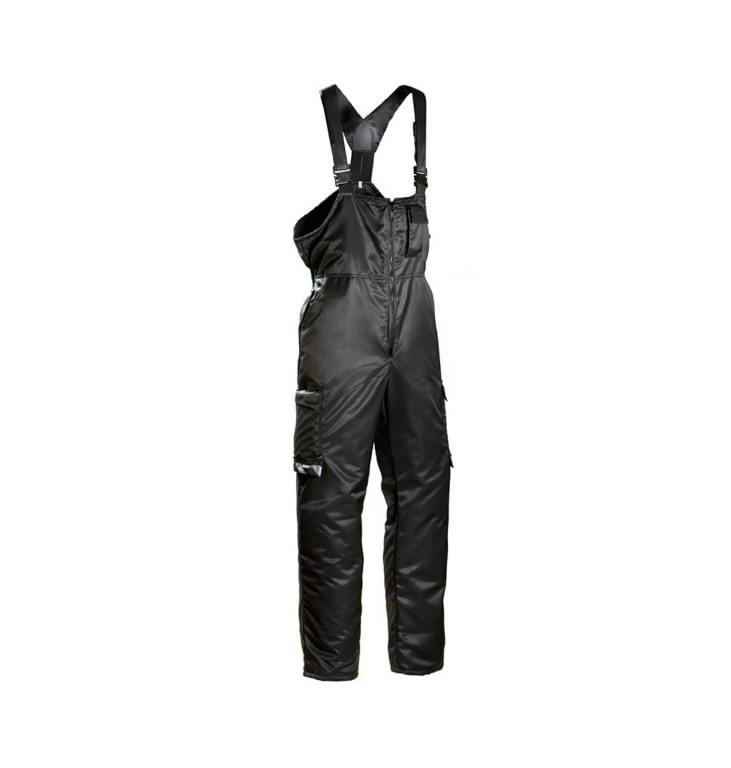 Winter bib-trousers  619 black 60, Dimex