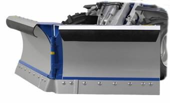 Sniega lāpsta V-veida 150-170 cm hidraulisks, MultiOne