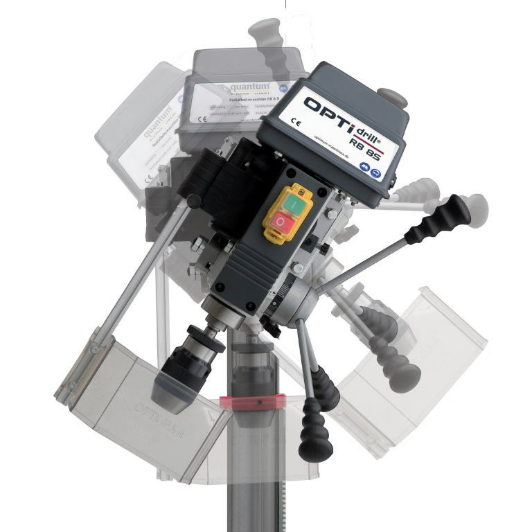 Radialinės gręžimo staklės OPTIdrill RB 8S 230V, Optimum
