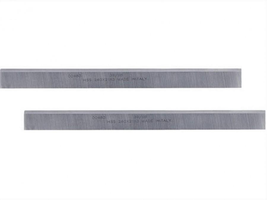 Höövliterad HSS 260x21x3mm, höövel-paksusmasinale D27300, DeWalt