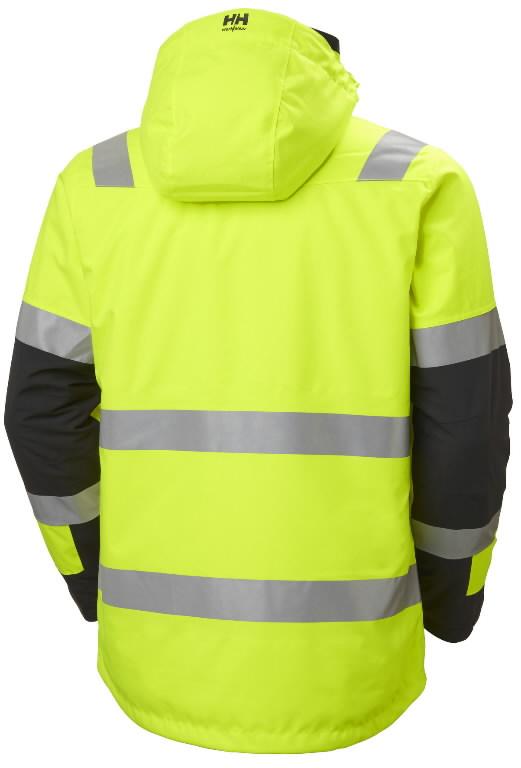 Talvejope Alna 2.0 kõrgnähtav CL3, kollane/must L, Helly Hansen WorkWear