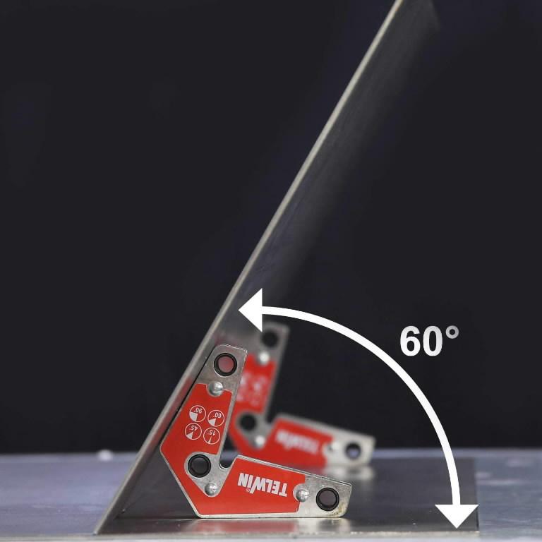 Keevitusmagnetite komplekt (2tk) 15°,45°,60°,90°, Telwin