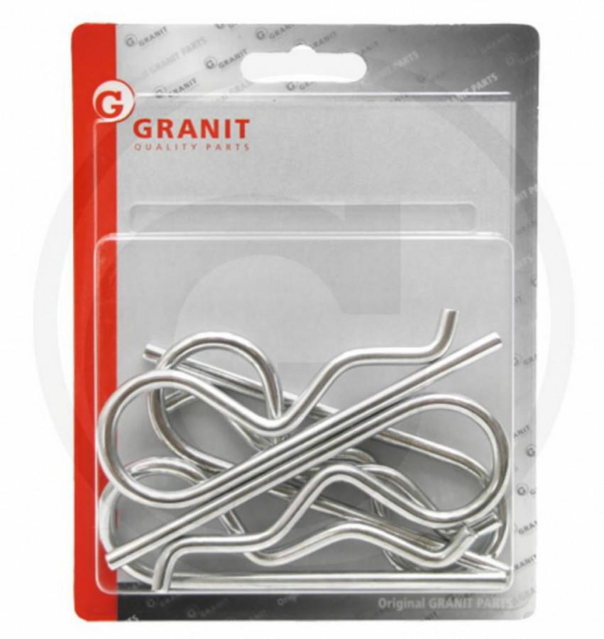 R-splintide komplekt 4MM 5tk-i (4X16-20), Granit