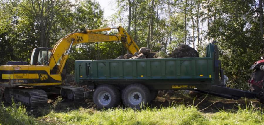 Multilift konteinerhaagis Palmse Trailer ML115S, PALMSE