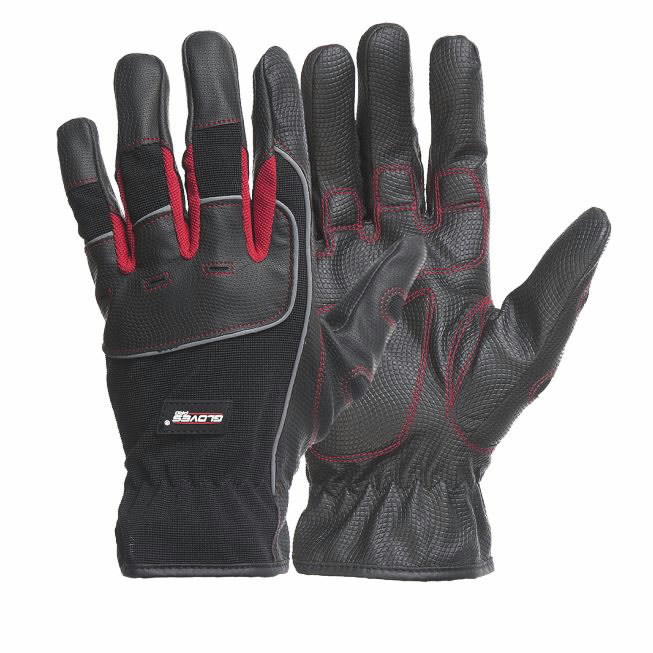 Kindad, ehitajale, Black Rock 10, Gloves Pro®