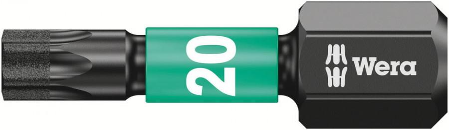 Otsak 1/4´´ 867/1 IMP DC Impaktor TORX TX 20x25, Wera