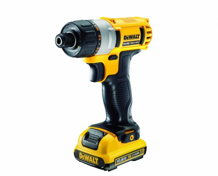 Cordless screwdriver DCF610D2 / 10,8V / 2,0 Ah