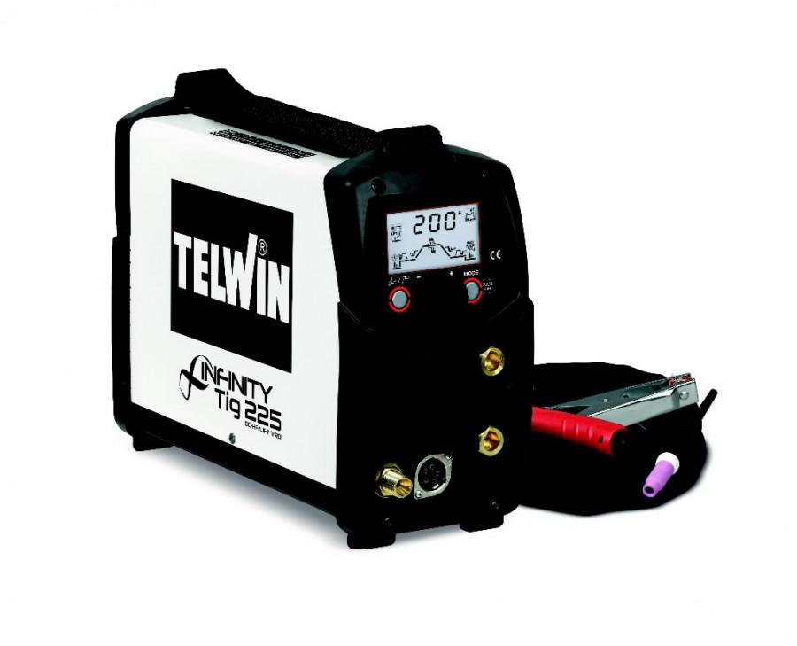 TIG suvirinimo aparatas Infinity TIG 225 DC VRD +priedai, Telwin