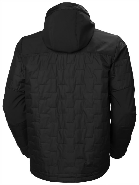 Jacket hooded Kensington Lifaloft, black 2XL, Helly Hansen WorkWear